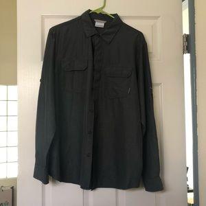NWT Men's Columbia button down shirt